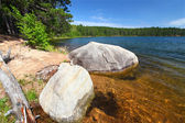 Clear Waters of Northwoods Wisconsin — Stock Photo