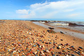 Lake Superior Beach in Michigan — Foto Stock