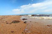 Lake Superior Beach in Michigan — Stock Photo