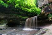 Rock state park - illinois hasret — Stok fotoğraf