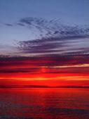 Lake Superior Sunset — Stock Photo