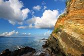 Rugged Tortola Coastline — Stock Photo
