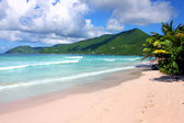 Smugglers Cove on Tortola (BVI) — Stock Photo