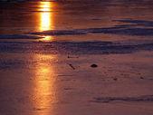 Sunlight and Ice — Stock Photo