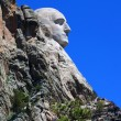Mount Rushmore Profile View - Stock Photo