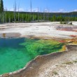 Stock Photo: Abyss Pool of Yellowstone