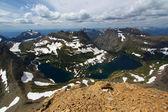 Lago escondido - glaciar np — Foto de Stock