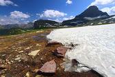 Chute de neige logan pass — Photo