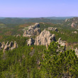 Stock Photo: Needles Rock Formations