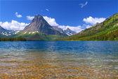 Mount Sinopah - Glacier National Park — Stock Photo