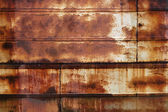 Rusty wet metall surface — Stock Photo