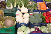 Vegetables in the market — Stockfoto