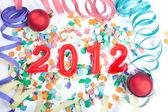 New Year, 2012 — Stock Photo