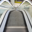 Stock Photo: Escalators in action