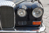Old classic car front — Stock Photo