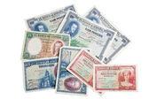 Spanish pesetas old notes — Stock Photo