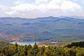 Mountain View with Lake — Stock Photo