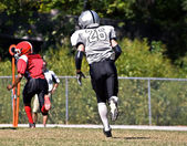 Youth Football Player — Stock Photo