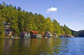 Beautiful Lake Shorline View — Stock Photo