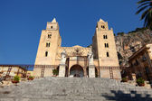 Cathedral-Basilica of Cefalu, Sicily — Stock Photo
