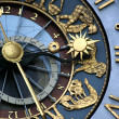 Astrological clock — Stockfoto #7545060
