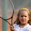 Tennis girl — Stock Photo #7545298