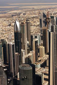 Letecký pohled na Dubaj — Stock fotografie