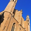 Santa Maria del Mar Church in Barcelona, Spain — Stock Photo