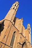 Santa Maria del Mar Church in Barcelona, Spain — Stock Photo