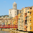 Old town of Girona, Spain — Stock Photo
