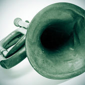 Old bugle — Stock Photo