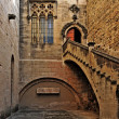 Monastery of Santa Maria de Poblet, Spain - Stockfoto