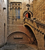 Monastery of Santa Maria de Poblet, Spain — Stockfoto