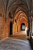 Monastery of Santa Maria de Poblet, Spain — Foto Stock