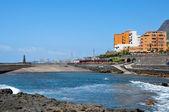 Strand in Bajamar, Teneriffa, Spanien — Stockfoto