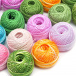 Stock Photo: Crochet thread