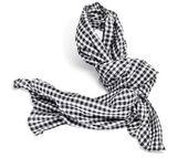 Checkered scarf — Stock Photo