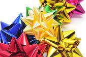 Gift ribbon bows — Stock Photo