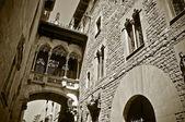 Casa dels canonges in barcelona, spanien — Stockfoto