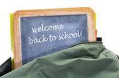 Willkommen zurück in der schule — Stockfoto
