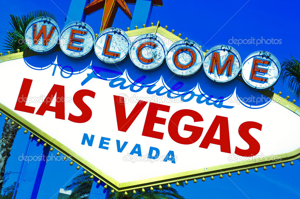 A view of Welcome to Fabulous Las Vegas sign  Stock Photo #7371538