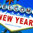 Welcome to fabulous new year — Stock Photo