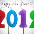 Happy new year 2012 — Stock fotografie