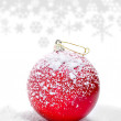 christmas  ball&quot — Stock Photo #7529890