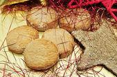 Mantecados、スペインの典型的なクリスマス ケーキ — ストック写真