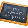 Do you speak english? - Stock Photo