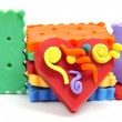 Stock Photo: Plasticine handicrafts