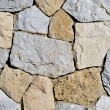 Stone wall background — Stock Photo