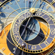 Stock Photo: Zodiacal clock square