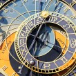 Zodiacal clock square - Stock Photo